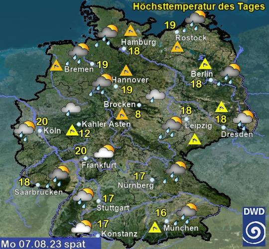 Deutschland 4. Tag Nachmittag