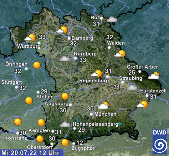 Wetter Aktuell München