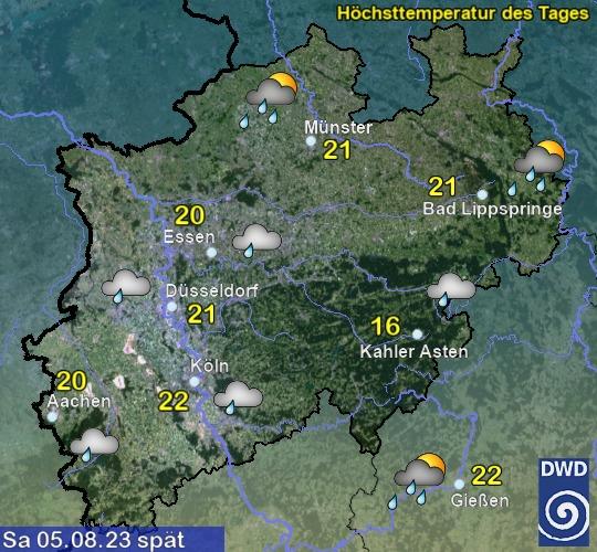NRW Morgen Nachmittag